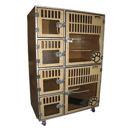 Cat Hotel Cage Unit manufactured by Gator Kennels